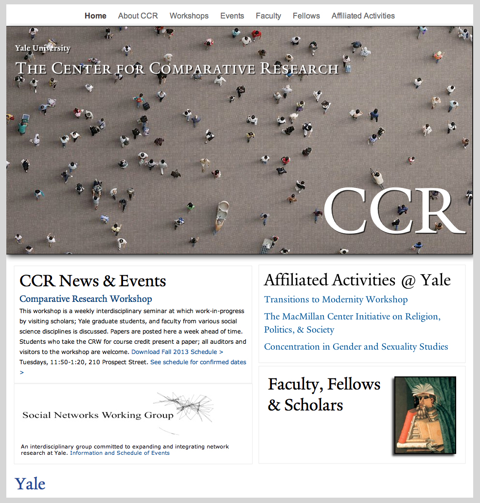 Center for Comparative Research
