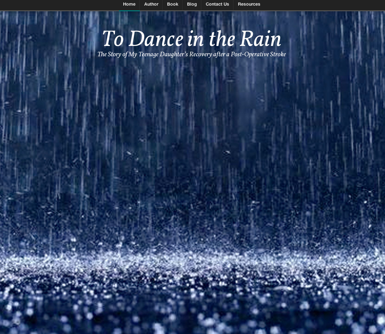 To Dance in the Rain