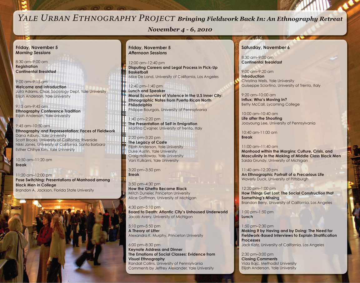 UEP Conference Program Poster