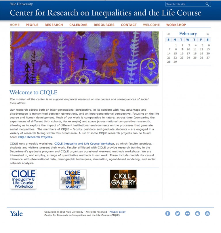 Center for Research on Inequality and the Life Course