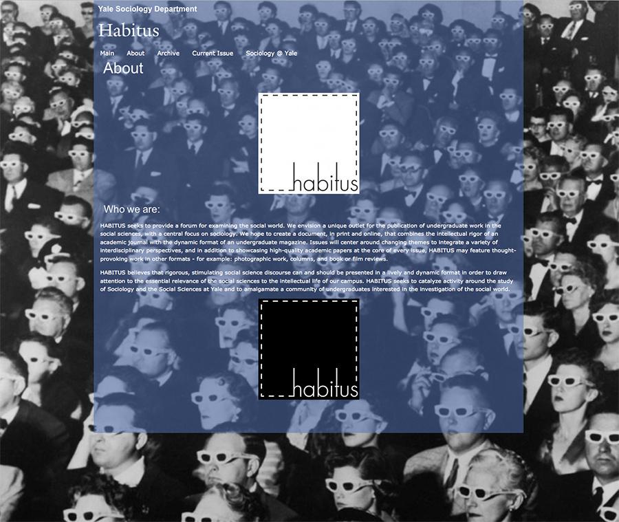 Habitus @ Yale