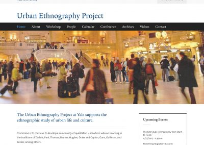 Urban Ethnography Project